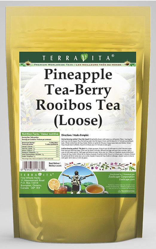 Pineapple Tea-Berry Rooibos Tea (Loose)