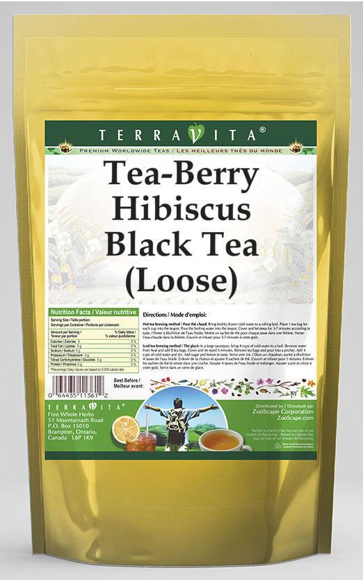 Tea-Berry Hibiscus Black Tea (Loose)