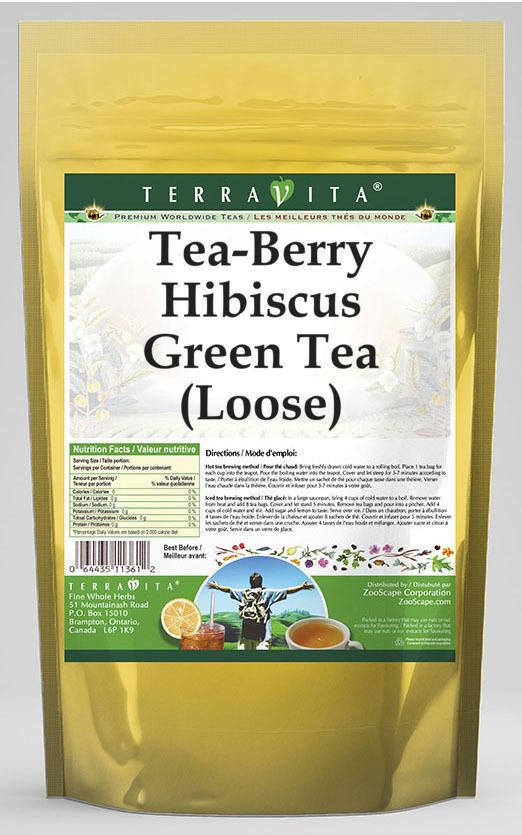 Tea-Berry Hibiscus Green Tea (Loose)