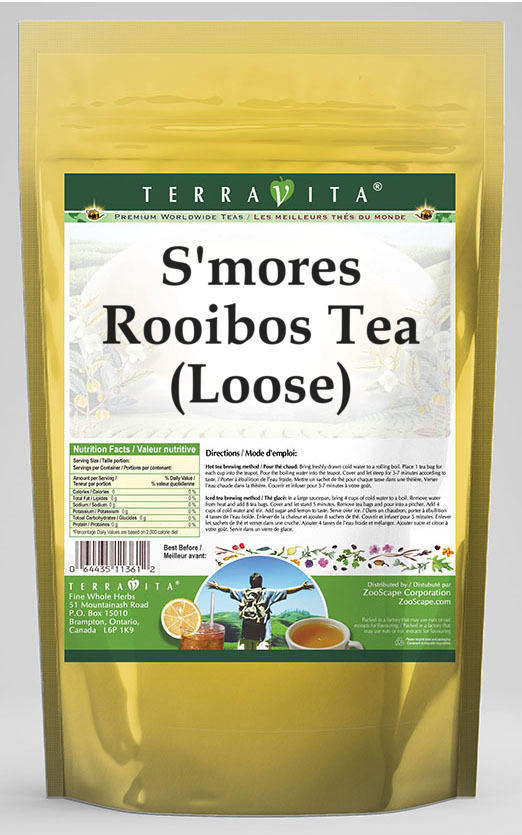 S'mores Rooibos Tea (Loose)