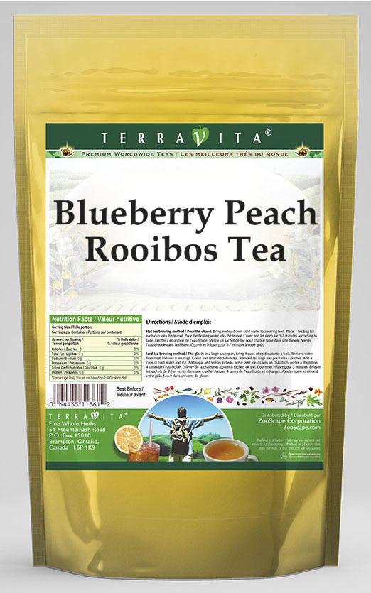 Blueberry Peach Rooibos Tea
