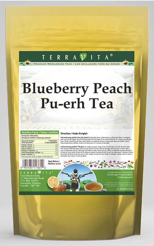 Blueberry Peach Pu-erh Tea