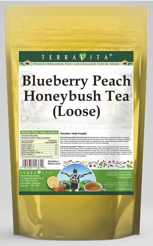 Blueberry Peach Honeybush Tea (Loose)