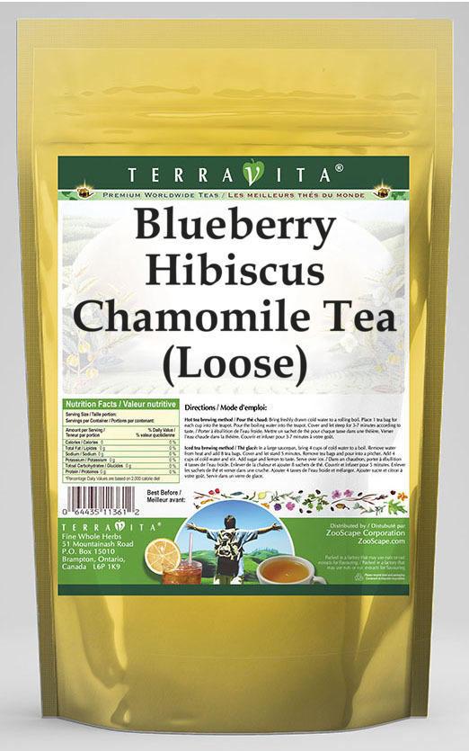 Blueberry Hibiscus Chamomile Tea (Loose)
