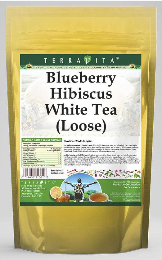 Blueberry Hibiscus White Tea (Loose)
