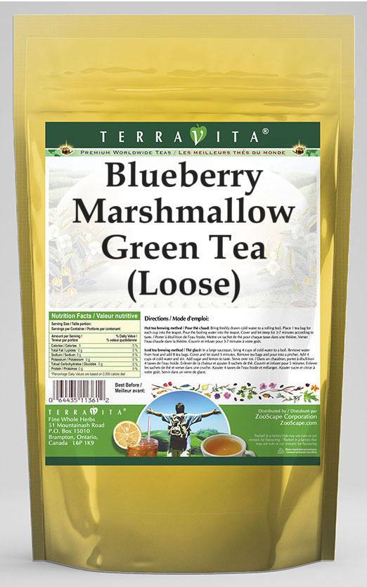 Blueberry Marshmallow Green Tea (Loose)
