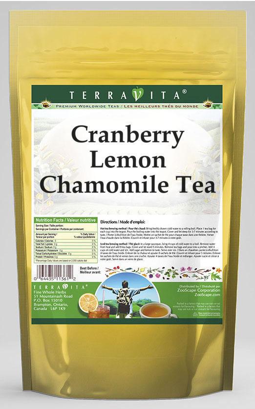 Cranberry Lemon Chamomile Tea