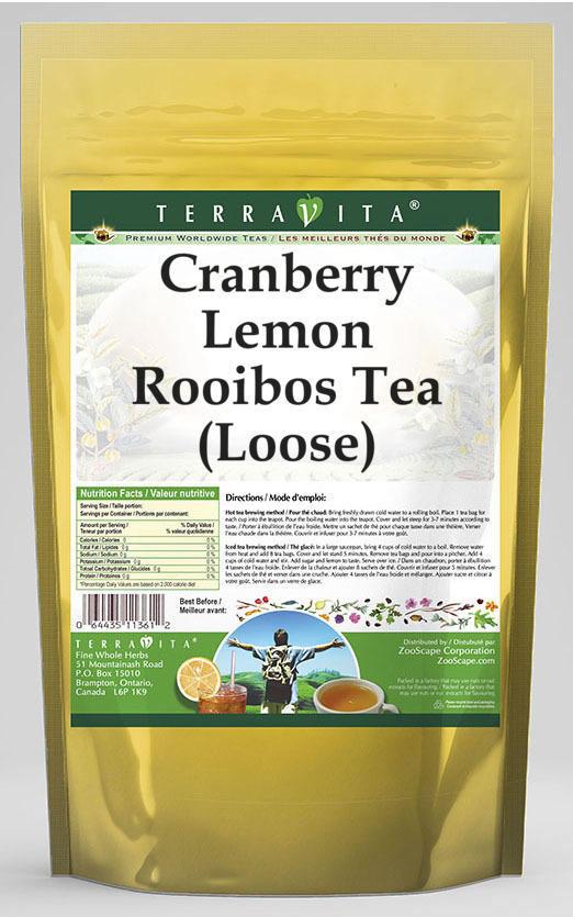 Cranberry Lemon Rooibos Tea (Loose)
