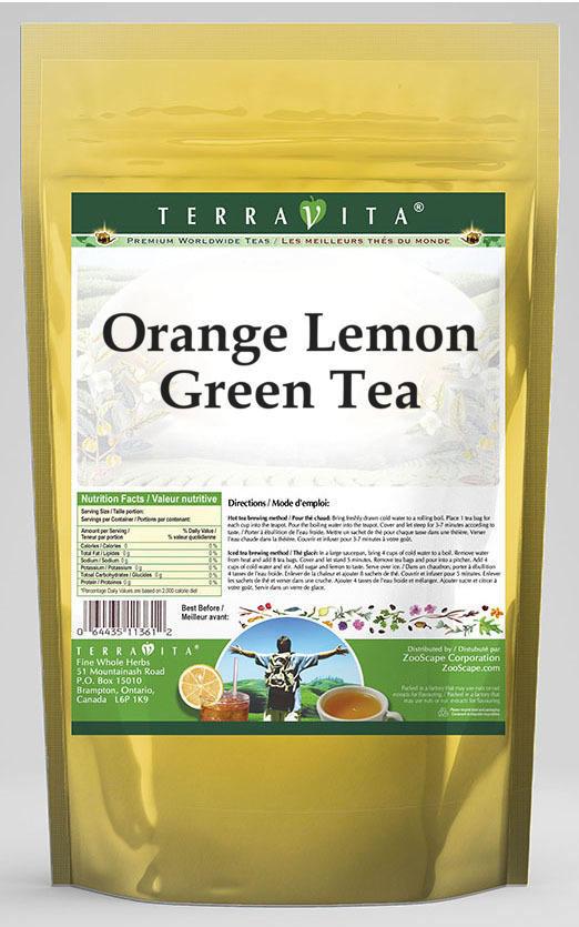 Orange Lemon Green Tea