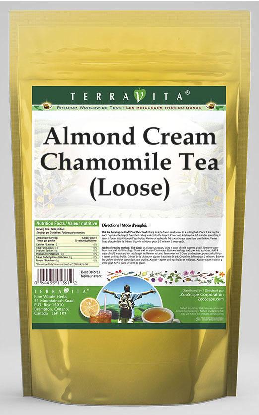 Almond Cream Chamomile Tea (Loose)