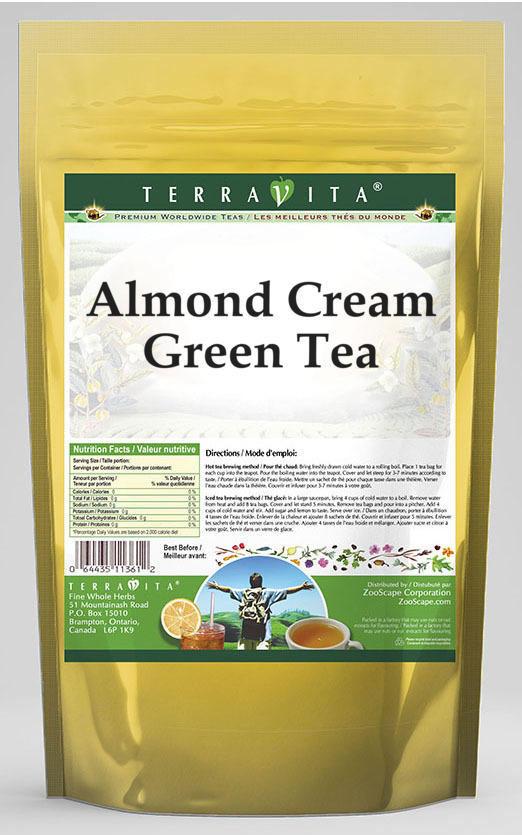 Almond Cream Green Tea