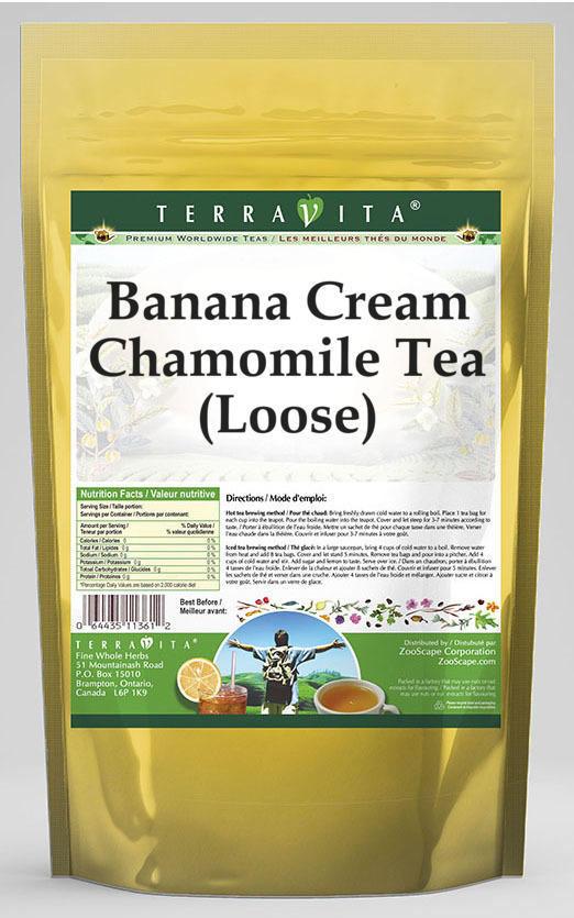 Banana Cream Chamomile Tea (Loose)