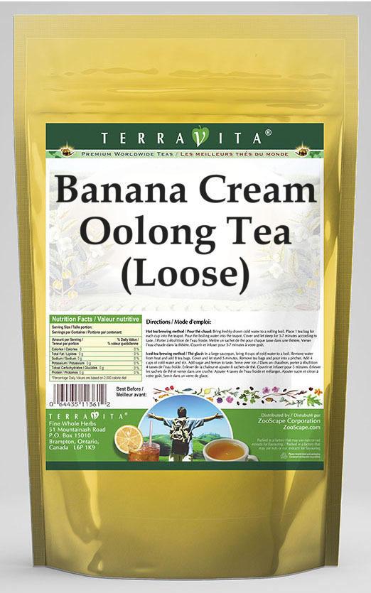 Banana Cream Oolong Tea (Loose)