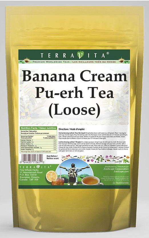 Banana Cream Pu-erh Tea (Loose)