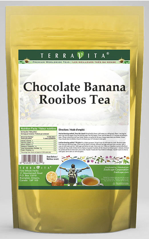 Chocolate Banana Rooibos Tea