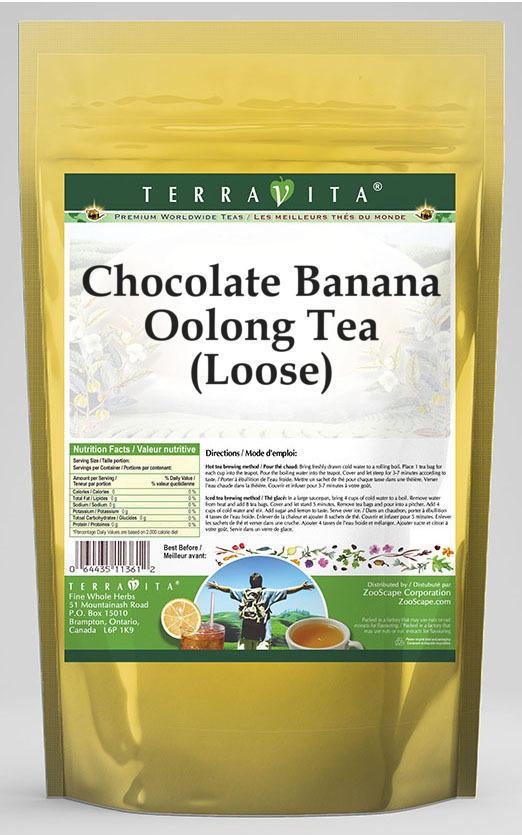 Chocolate Banana Oolong Tea (Loose)
