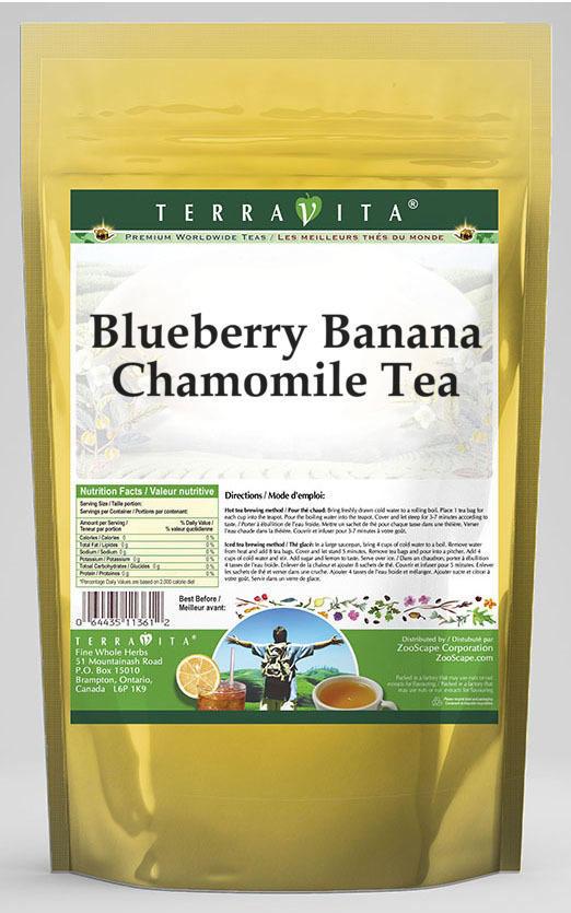 Blueberry Banana Chamomile Tea