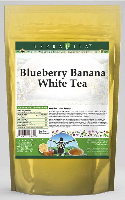 Blueberry Banana White Tea