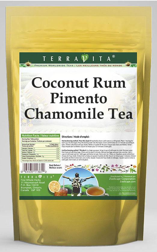 Coconut Rum Pimento Chamomile Tea