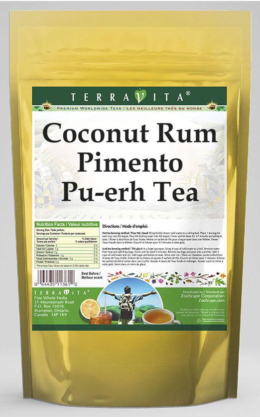 Coconut Rum Pimento Pu-erh Tea