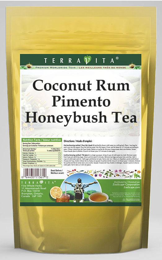 Coconut Rum Pimento Honeybush Tea
