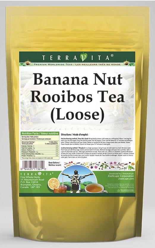 Banana Nut Rooibos Tea (Loose)
