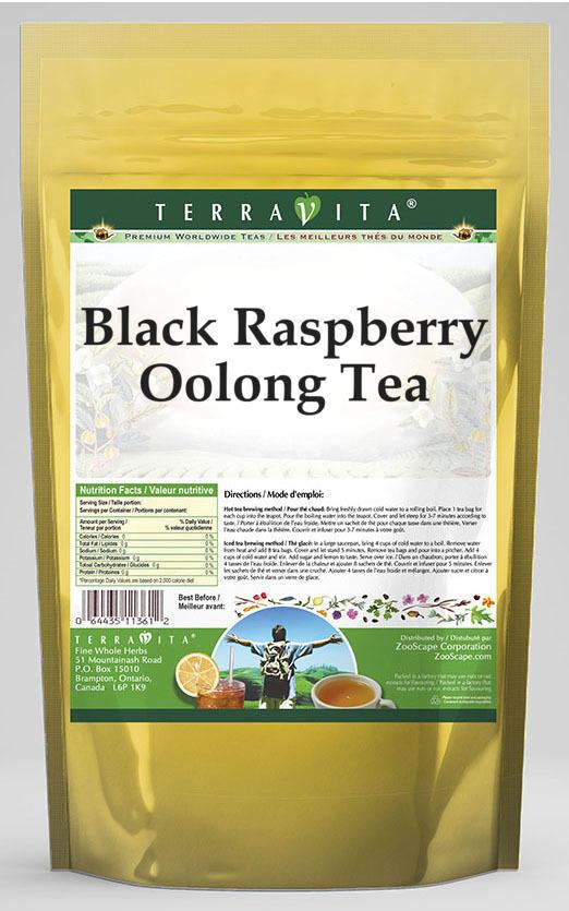 Black Raspberry Oolong Tea