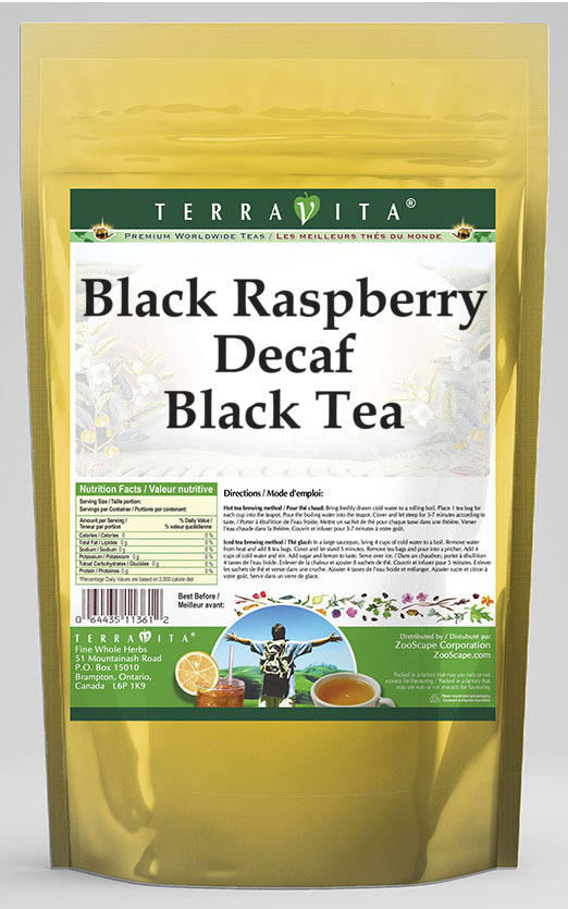 Black Raspberry Decaf Black Tea