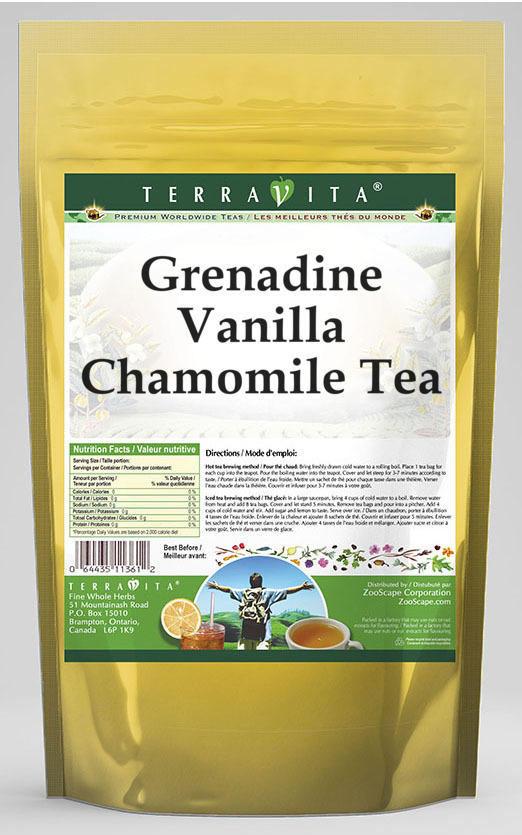 Grenadine Vanilla Chamomile Tea