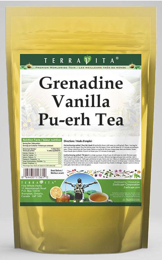 Grenadine Vanilla Pu-erh Tea