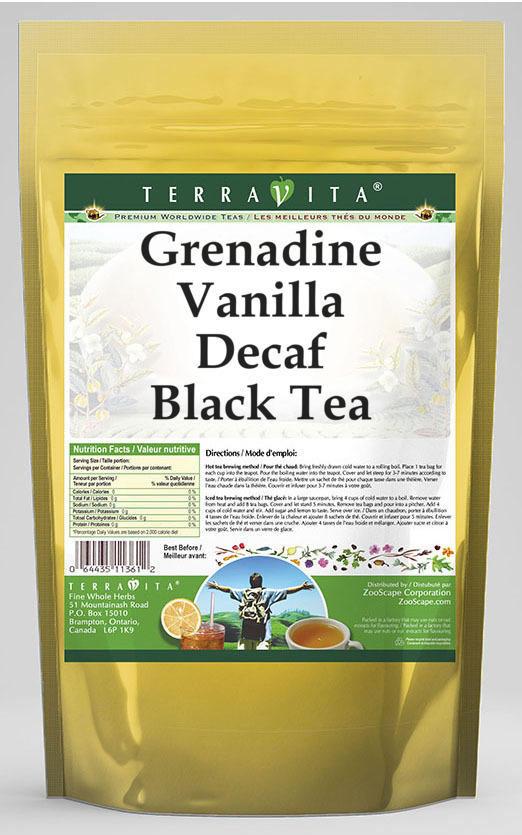 Grenadine Vanilla Decaf Black Tea