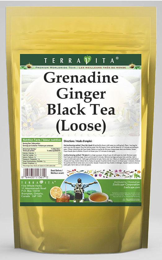 Grenadine Ginger Black Tea (Loose)