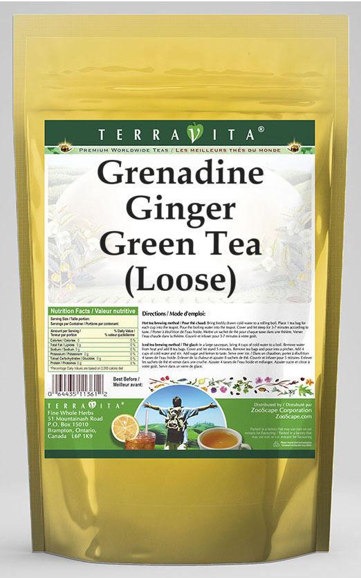 Grenadine Ginger Green Tea (Loose)