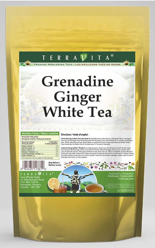 Grenadine Ginger White Tea