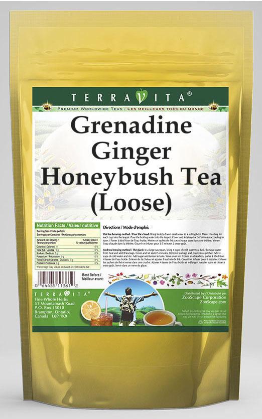 Grenadine Ginger Honeybush Tea (Loose)