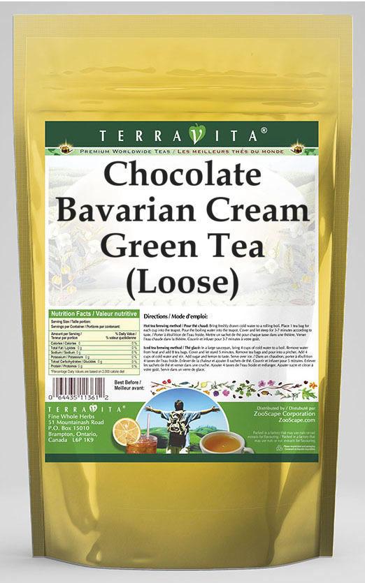 Chocolate Bavarian Cream Green Tea (Loose)