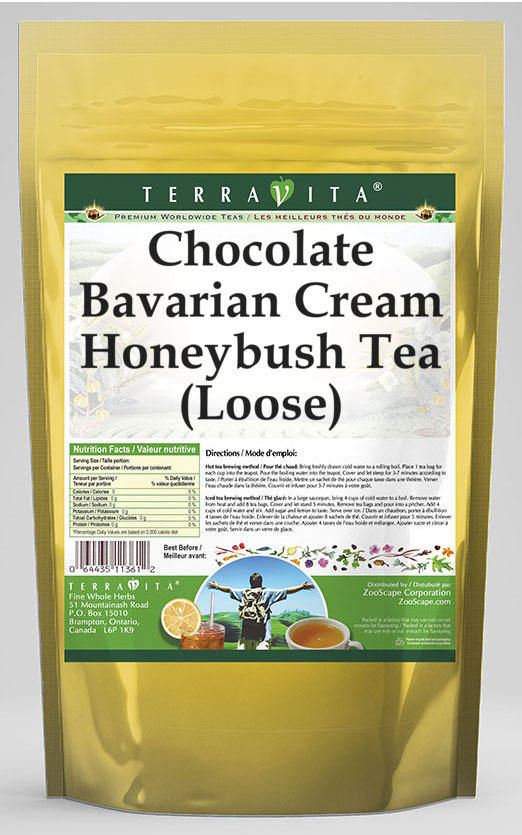 Chocolate Bavarian Cream Honeybush Tea (Loose)