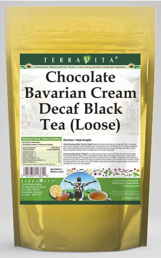 Chocolate Bavarian Cream Decaf Black Tea (Loose)