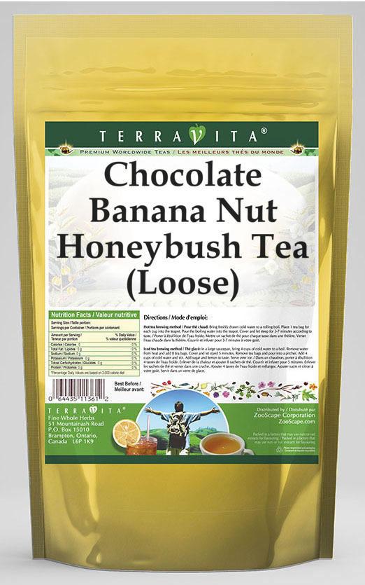Chocolate Banana Nut Honeybush Tea (Loose)