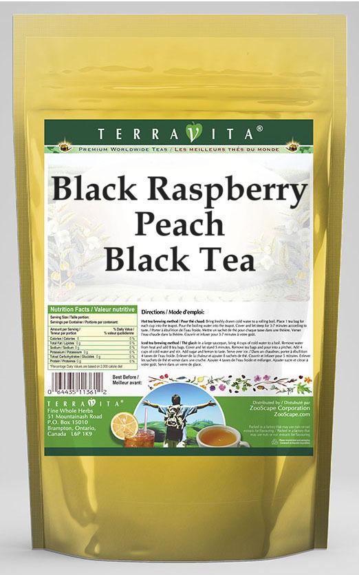 Black Raspberry Peach Black Tea