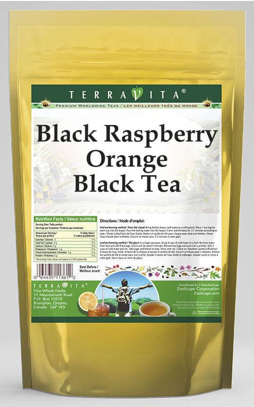 Black Raspberry Orange Black Tea
