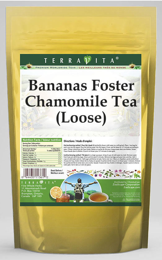 Bananas Foster Chamomile Tea (Loose)