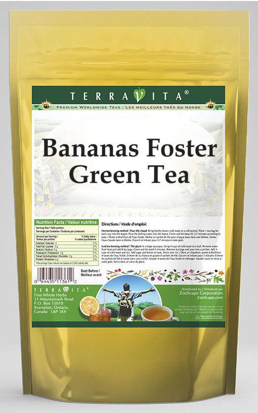 Bananas Foster Green Tea