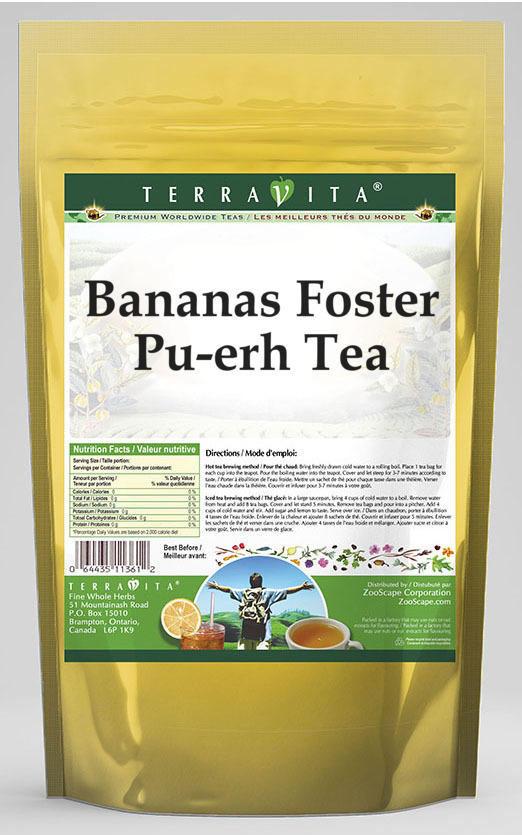 Bananas Foster Pu-erh Tea