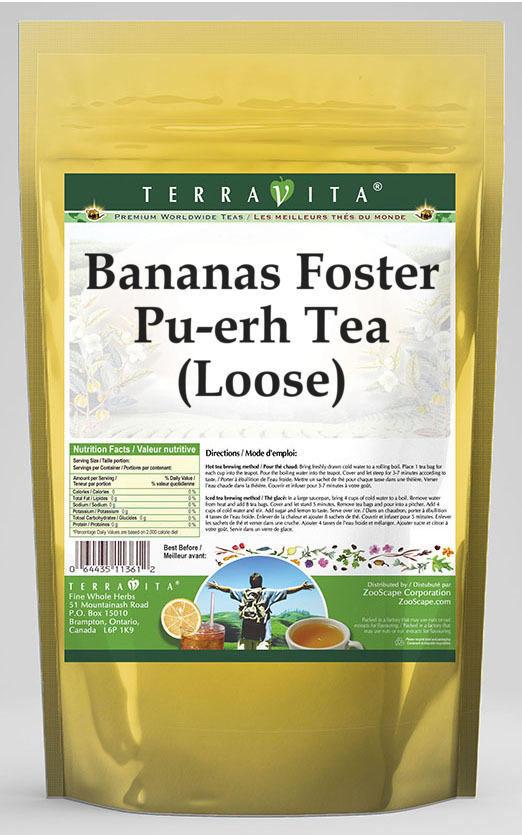 Bananas Foster Pu-erh Tea (Loose)