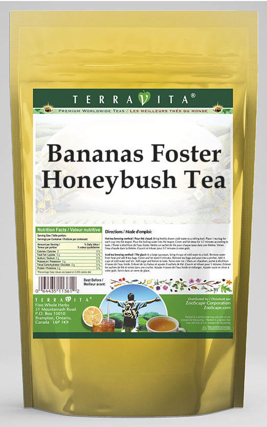 Bananas Foster Honeybush Tea