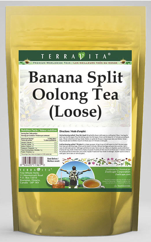 Banana Split Oolong Tea (Loose)