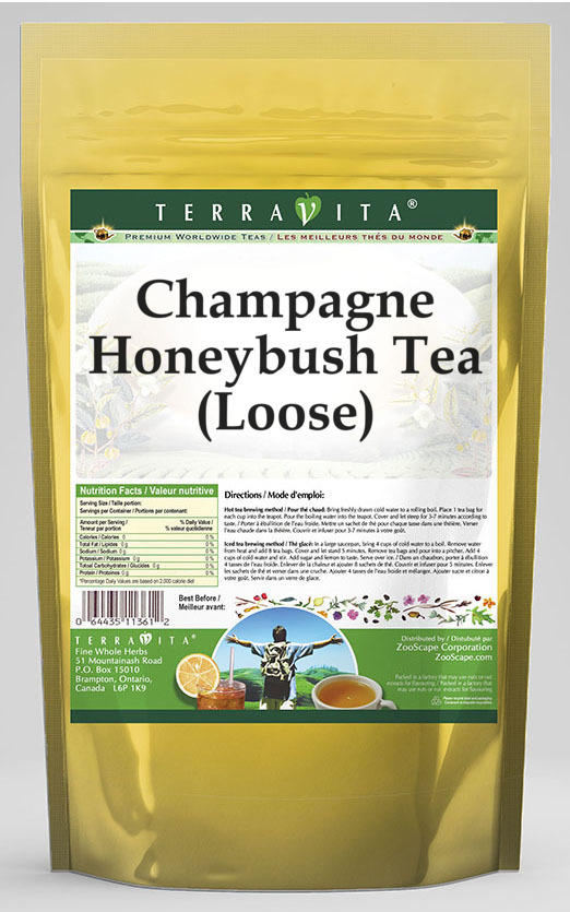 Champagne Honeybush Tea (Loose)