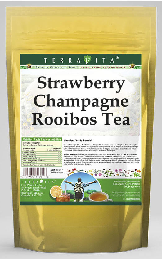 Strawberry Champagne Rooibos Tea