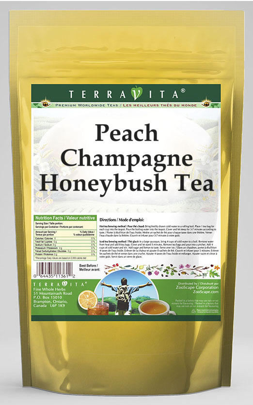 Peach Champagne Honeybush Tea